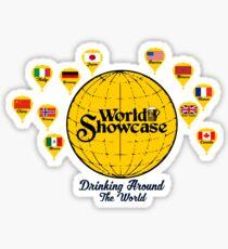 Drinking Around The World- Epcot  Sticker