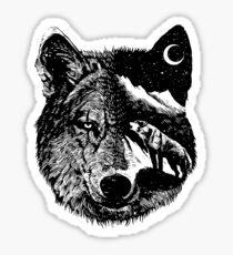 Nachtwolf Sticker
