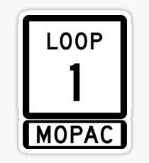 MOPAC Sticker