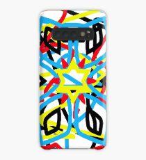 colorful kaleidoscope mandala Case/Skin for Samsung Galaxy