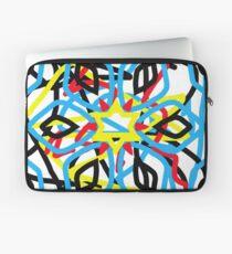 colorful kaleidoscope mandala Laptop Sleeve