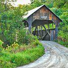 Coburn Covered Bridge by Mary Carol Story