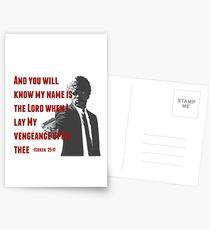 Ezekiel 25:17 Postcards