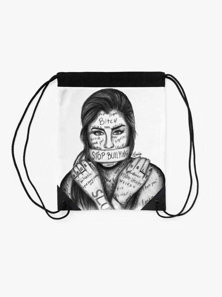 Vista alternativa de Mochila de cuerdas Lauren Jauregui - Detener la intimidación
