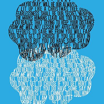 The Fault in Our Stars - Cloud Typography by saycheese14