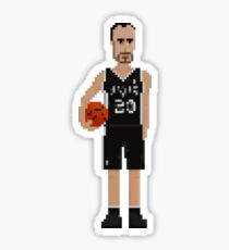 Manu Ginóbili - Spurs Sticker