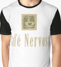 Cafe Nervosa sign – Frasier, Seattle Graphic T-Shirt