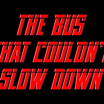 The bus that couldn't slow down – Simpsons, Homer by fandemonium