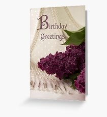 Lilac Loveliness  Greeting Card