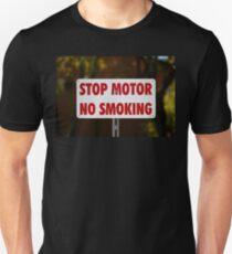 Stop Motor No Smoking T-Shirt