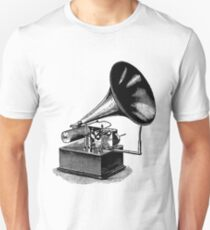 Vintage Phonograph - Later Model Unisex T-Shirt