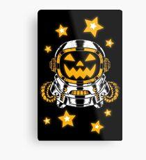Space Halloween Metal Print