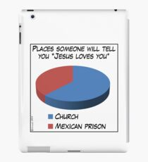Humor: Jesus Loves You iPad Case/Skin