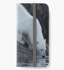 Ours polaire - Polar Bear iPhone Wallet/Case/Skin