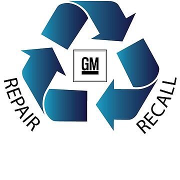GM Recall and Repair Logo Parody by cartoon