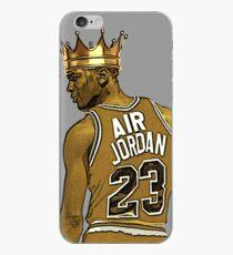 "Vinilo o funda para iPhone Michael ""Air"" Jordan - King"