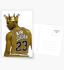 """Michael """"Air"""" Jordan - King Postcards"""