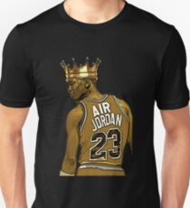 "Michael ""Air"" Jordan - King Unisex T-Shirt"