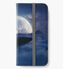 flying whale iPhone Wallet/Case/Skin