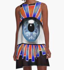 Globellium V1 - an eye on you A-Line Dress