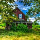 Abandoned Home in Lubec, Maine by kenmo