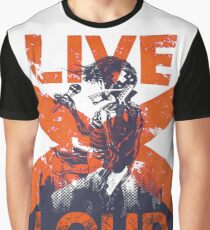 Live Loud Graphic T-Shirt