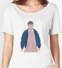 Stranger Things Eleven El Minimalist Women's Relaxed Fit T-Shirt