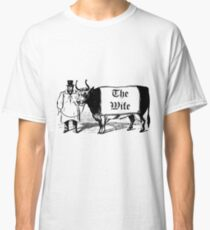 Vintage Victorian Humor Classic T-Shirt