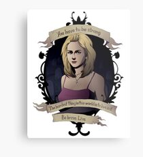 Buffy - Buffy the Vampire Slayer Metal Print