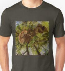 Squirrel Sculpture on path through Prehen Woods,  Derry T-Shirt