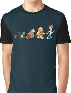 Hanna Barbera Evolution Graphic T-Shirt