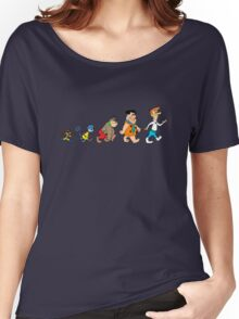 Hanna Barbera Evolution Women's Relaxed Fit T-Shirt
