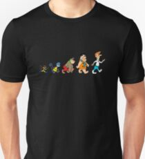 Hanna Barbera Evolution T-Shirt