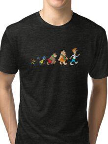 Hanna Barbera Evolution Tri-blend T-Shirt