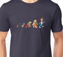Hanna Barbera Evolution Unisex T-Shirt