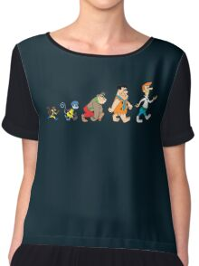 Hanna Barbera Evolution Chiffon Top