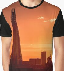 London Shard Sunset Graphic T-Shirt