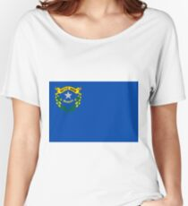 Nevada Flag Women's Relaxed Fit T-Shirt
