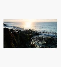 Waves over Wales Coast Photographic Print
