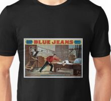 Performing Arts Posters Blue jeans will never wear out by Joseph Arthur author of The still alarm 1040 Unisex T-Shirt