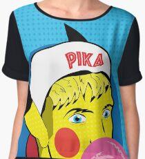 PikaBro Pop Art Women's Chiffon Top