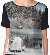 Loch Ard Winter View Women's Chiffon Top