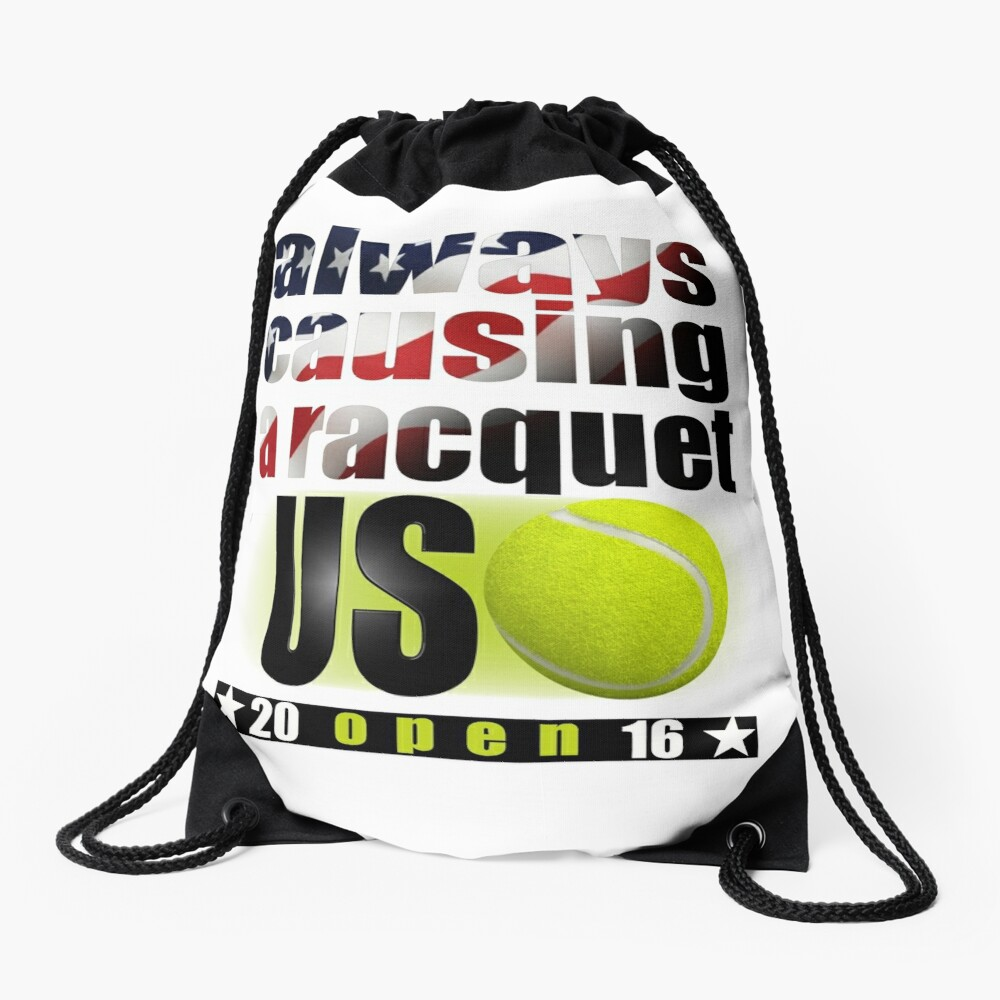 us open Drawstring Bag