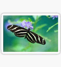 Zebra Longwing - Heliconius charitonia Sticker