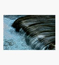 Froth & Fibre Photographic Print