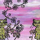 Two Cutie Kittens by kewzoo