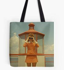 Moonrise Kingdom casttle Tote Bag