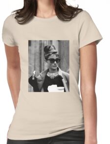 Breakfast at Tiffany's Womens Fitted T-Shirt