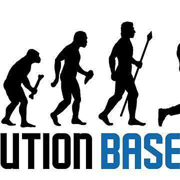 Baseball Evolution Of Man by BeyondEvolved