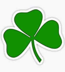 Ireland Irish Shamrock Sticker